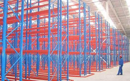 泉林纸业重型货架工程