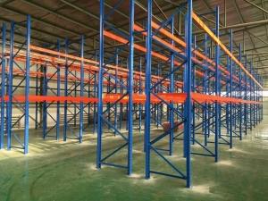 青岛客户惠购重型货架出口印尼